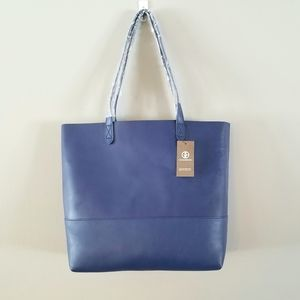 NWT Giani Bernini Leather Commuter Tote